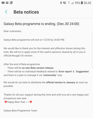 Galaxy Beta S7