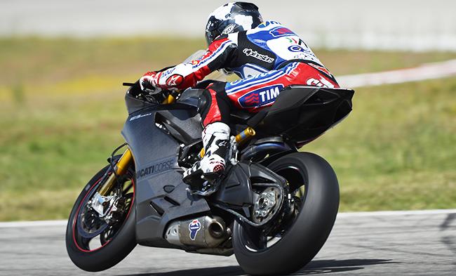 Carlos Checa Ducati 1199 Panigale