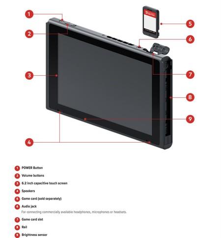 Nintendo Switch Especificaciones 4