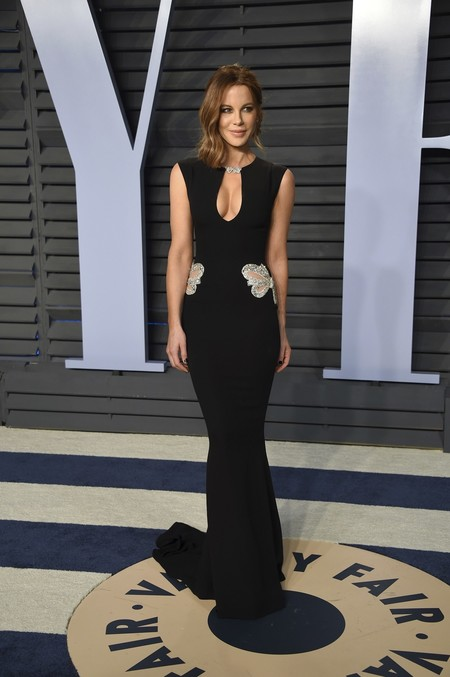 Alfombra Roja Vanity Fair Oscar 2018 Kate Beckinsale Reem Acra