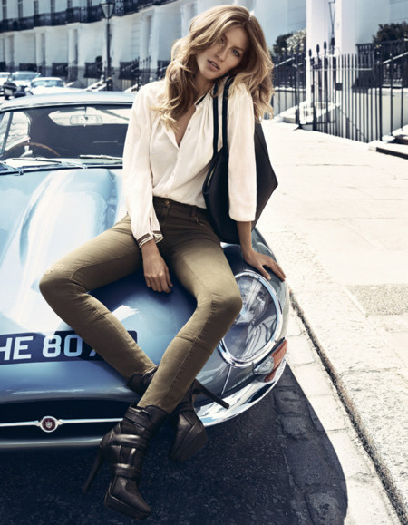 Gisele Bundchen HM pantalón otoño