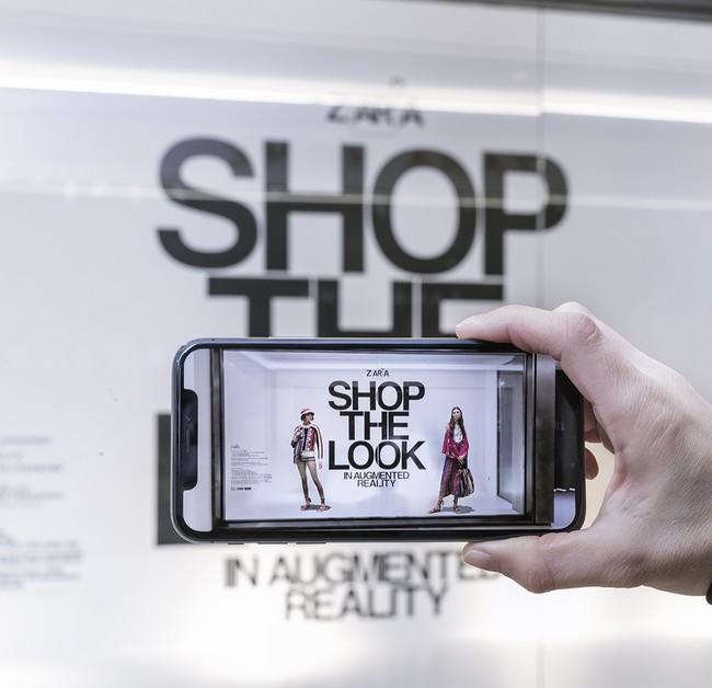 Lo nuevo de Zara parece de ciencia ficción, realidad aumentada en sus tiendas para ver los looks en movimento