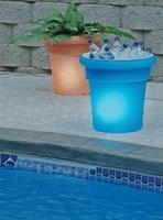 Macetas solares incluso para bebidas frías