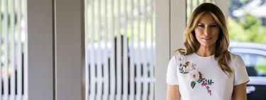 El presupuesto de Melania Trump aumenta en Tokio, así es su vestido de más de 6.200 euros firmado por Carolina Herrera