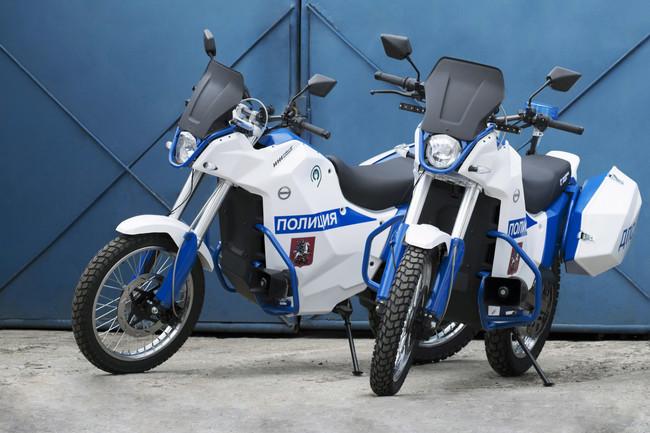 Esta es la IZH Pulsar: La moto eléctrica para mantener la seguridad (y el silencio) en Rusia