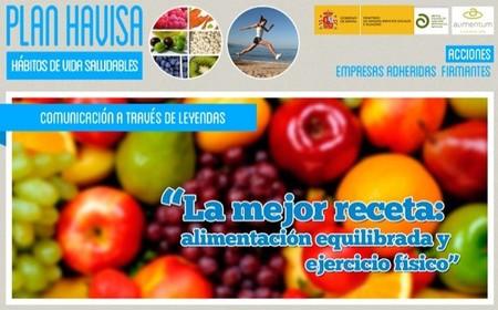 El Plan Havisa (hábitos de vida saludables) para luchar contra la obesidad en España