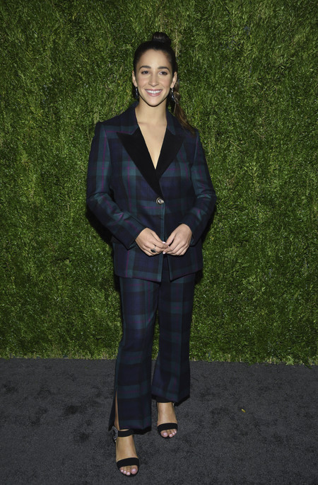 Olympic Gymnast Aly Raisman look cfda