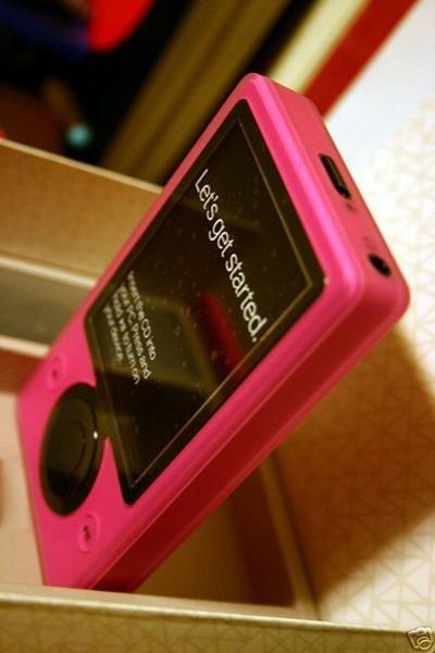 Zune rosa en Ebay