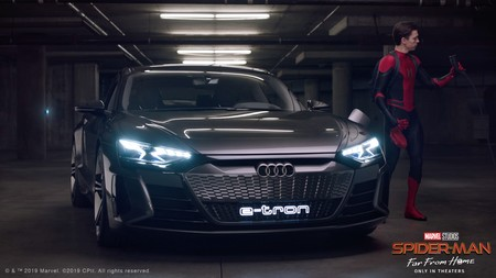 Audi Spider Man Far From Home