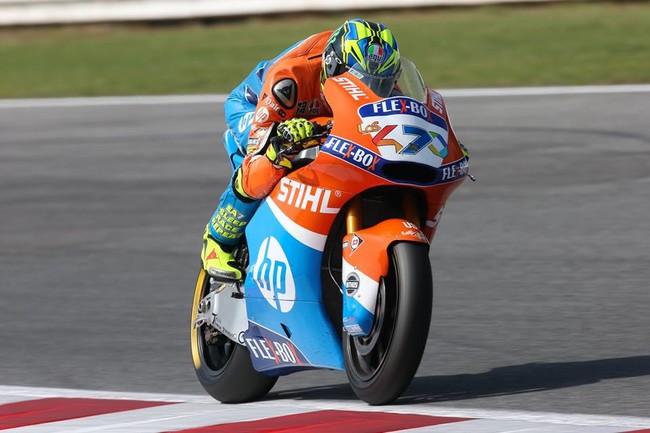 Lorenzo Baldassarri consigue la pole de Moto2 en Buriram en medio de una tremenda igualdad
