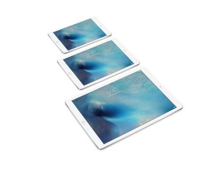 iPad mini, iPad y iPad Pro