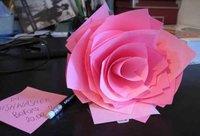 Hazlo tú mismo: una rosa de papel