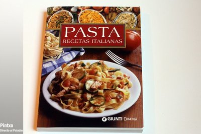 Un libro de Pasta. Recetas italianas