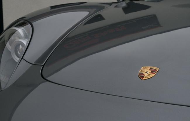 Porsche Carrera GT con láminas de protección de la pintura 03
