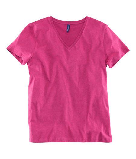 Camiseta rosa fuerte