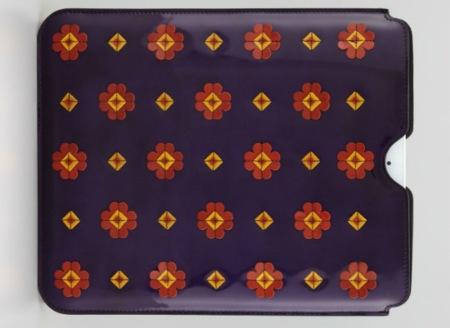Spazzolato, la funda de flores de Prada para iPad