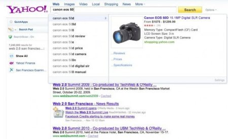 "Yahoo está probando Rich Search Assist, su propio servicio ""Instant"""