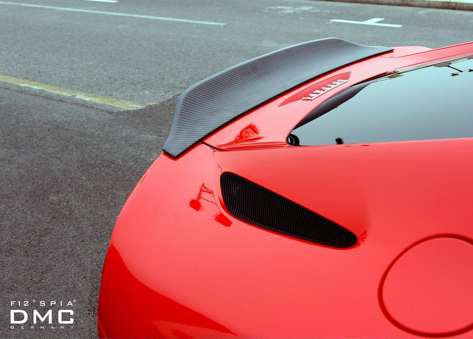 Foto de DMC Ferrari F12 Berlinetta Spia (9/10)