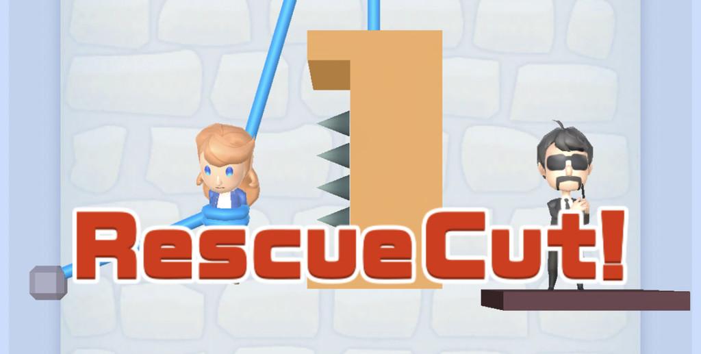 Así es 'Rescue Cut - Rope Puzzle', el sencillo juego de 'cortar la cuerda' que acumula millones de descargas en iOS y Android