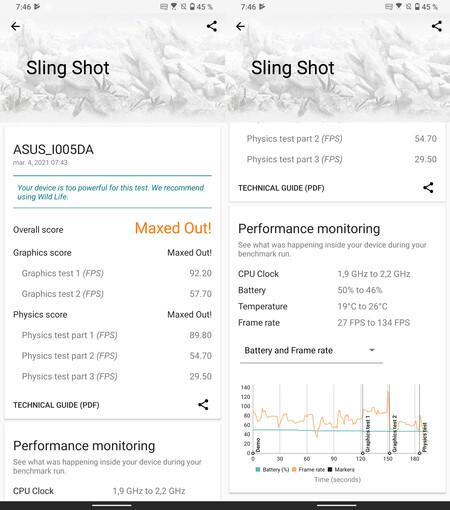 ASUS ROG Phone 5, benchmarks