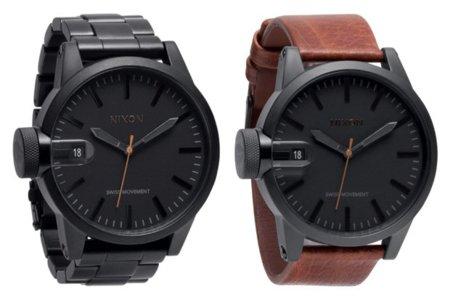 Nuevos relojes de Nixon por Barneys para la colección de fiesta