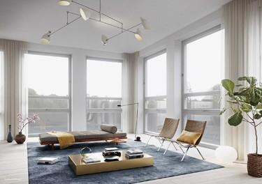 Minimalismo nórdico en este apartamento de Estocolmo