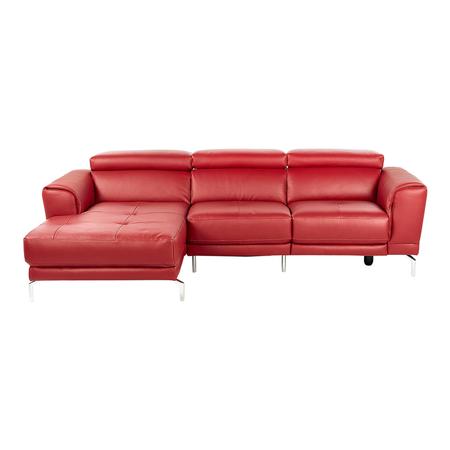 Sofá rojo con descuento Black Friday
