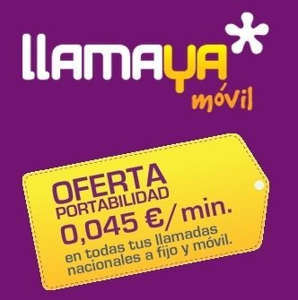 Promoción LlamaYa a todos por 4.5 céntimos/minuto