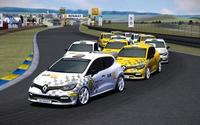Renault Clio Cup On Line, un campeonato virtual con premio real