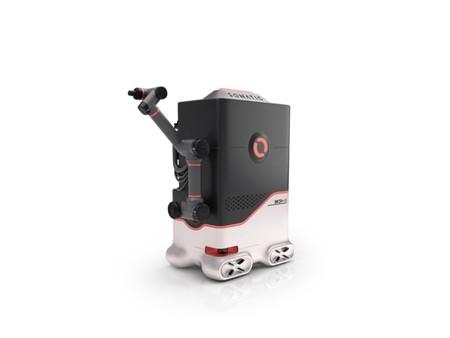 A este robot lo contratan para limpiar baños 40 horas semanales, pero cobra menos de la mitad que un humano