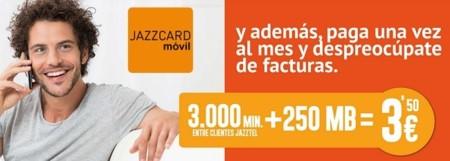Jazzcard sube el coste de internet para los que menos consumen en prepago y el de los SMS