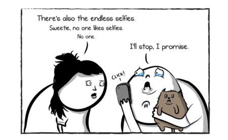 A nadie le gustan los selfies: imagen de la semana