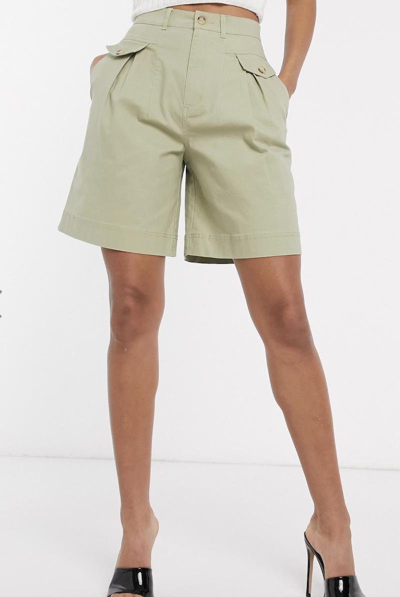 Pantalones cortos de safari Dad de ASOS DESIGN