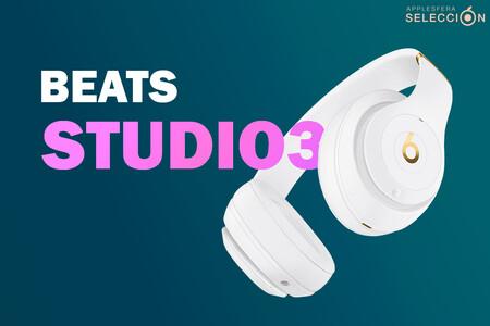 Hasta 40 horas de autonomía y cancelación de ruido: los auriculares Beats Studio3 más baratos que en el Prime Day: 148 euros