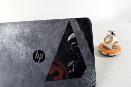 Portatil Hp Star Wars Review Xataka Detalle Carcasa