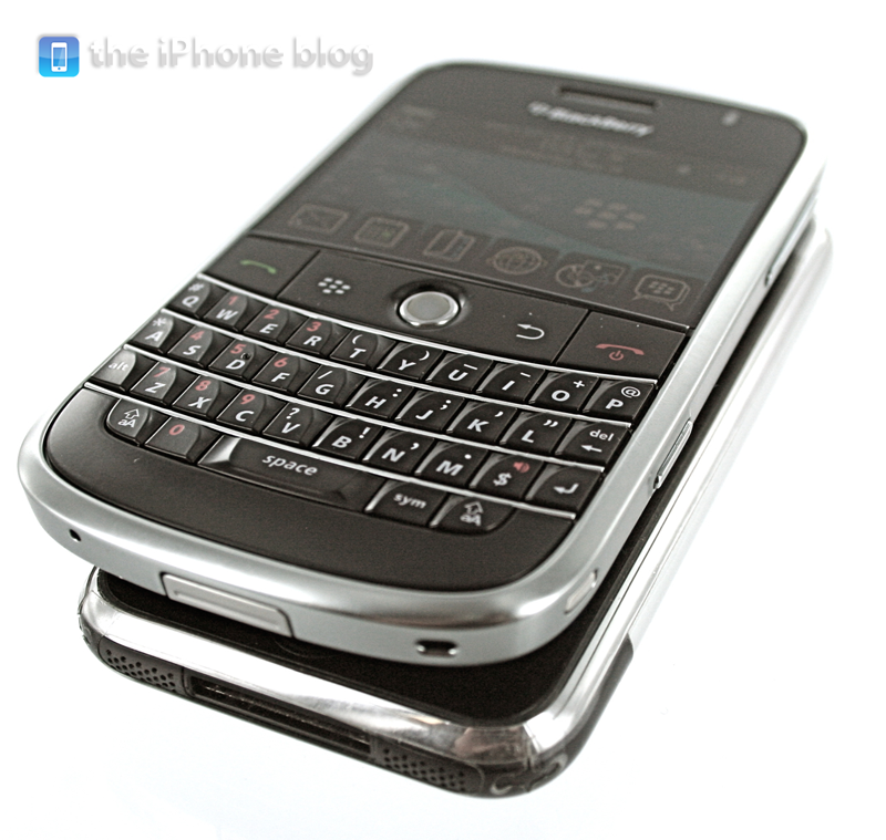 Foto de BlackBerry Bold vs iPhone (12/17)