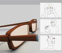 Curiosidades del menaje: unos palillos en tus gafas