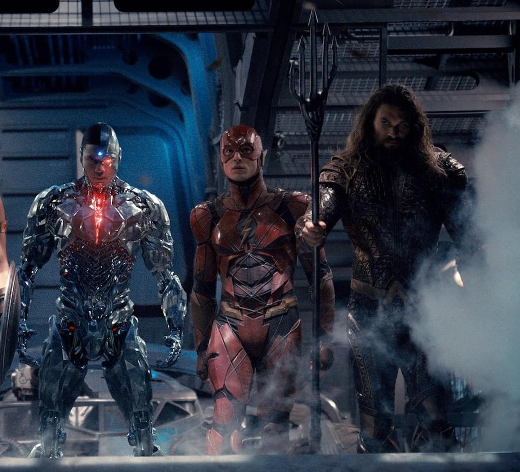 Cyborg, Flash y Aquaman