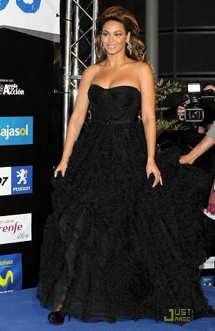 El look de Beyoncé en la Gala de Los 40 Principales
