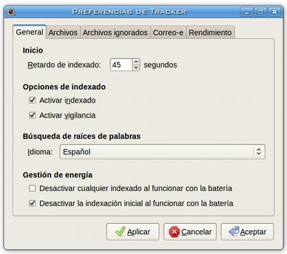 Preferencias Tracker