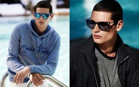 Gafas de sol para hombre de Louis Vuitton: dos siluetas atemporales