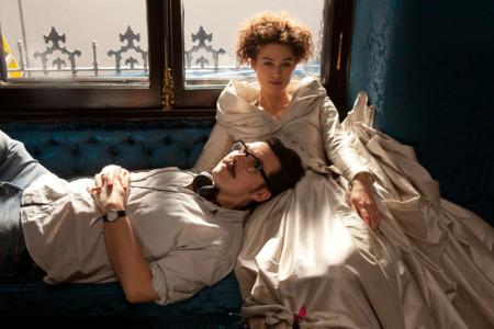 Joe Wright en el rodaje de Anna Karenina