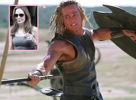 Brad Pitt el cabreado 'Señor del Anillo'