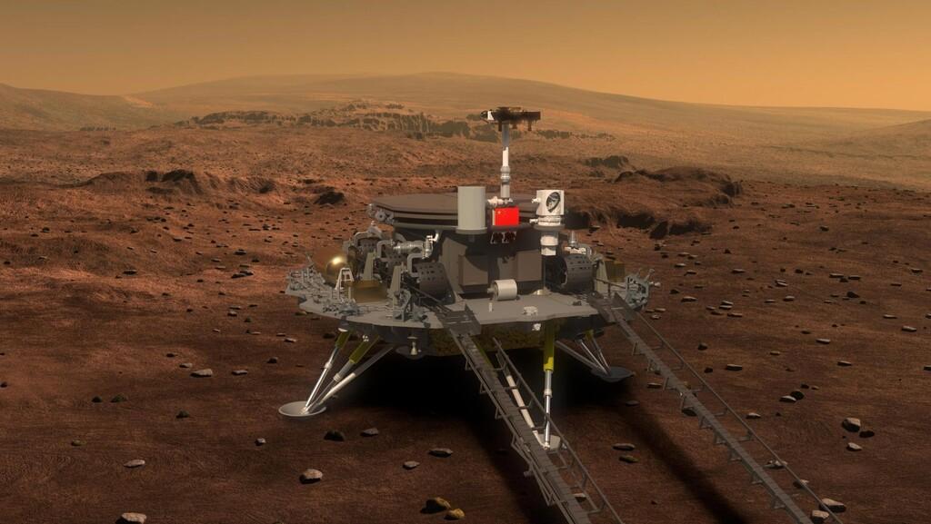China ha conseguido aterrizar su primer lander en Marte: esto es lo que se espera de él