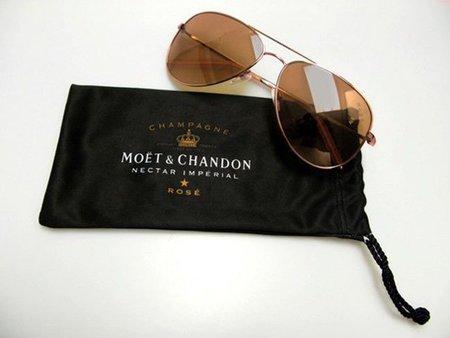 Un Rosé de Moët & Chandon diferente: las gafas de sol diseñadas por Mosley Tribes