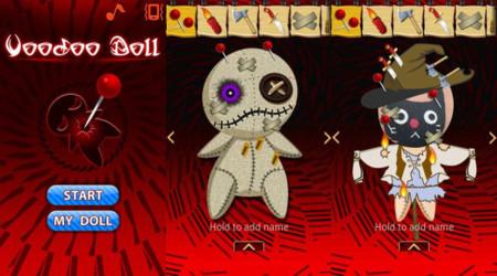Muñeca vudú, app para Android