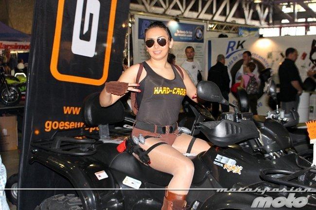 Azafata en Motomadrid 2012