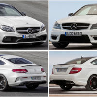 Mercedes-AMG C 63 Coupé vs C 63 AMG Coupé: comparativa visual