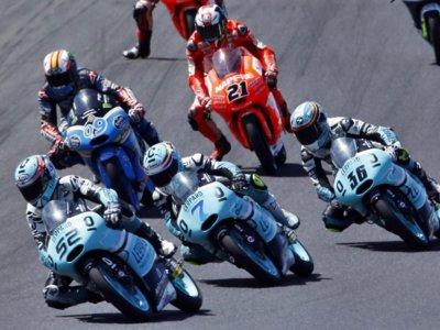 Marchando una ración de sanciones para la parrilla de Moto3