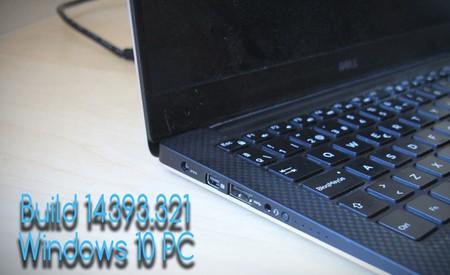 Ya puedes descargar la Build 14393.321 para Windows 10 Mobile y Windows 10 PC